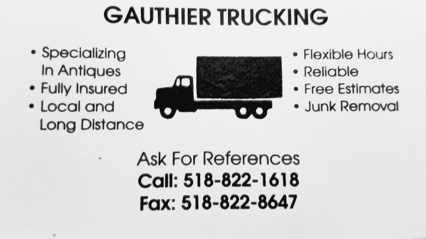Gauthier Trucking Delivery Service