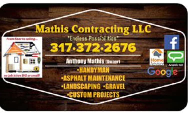 Mathis Contracting logo