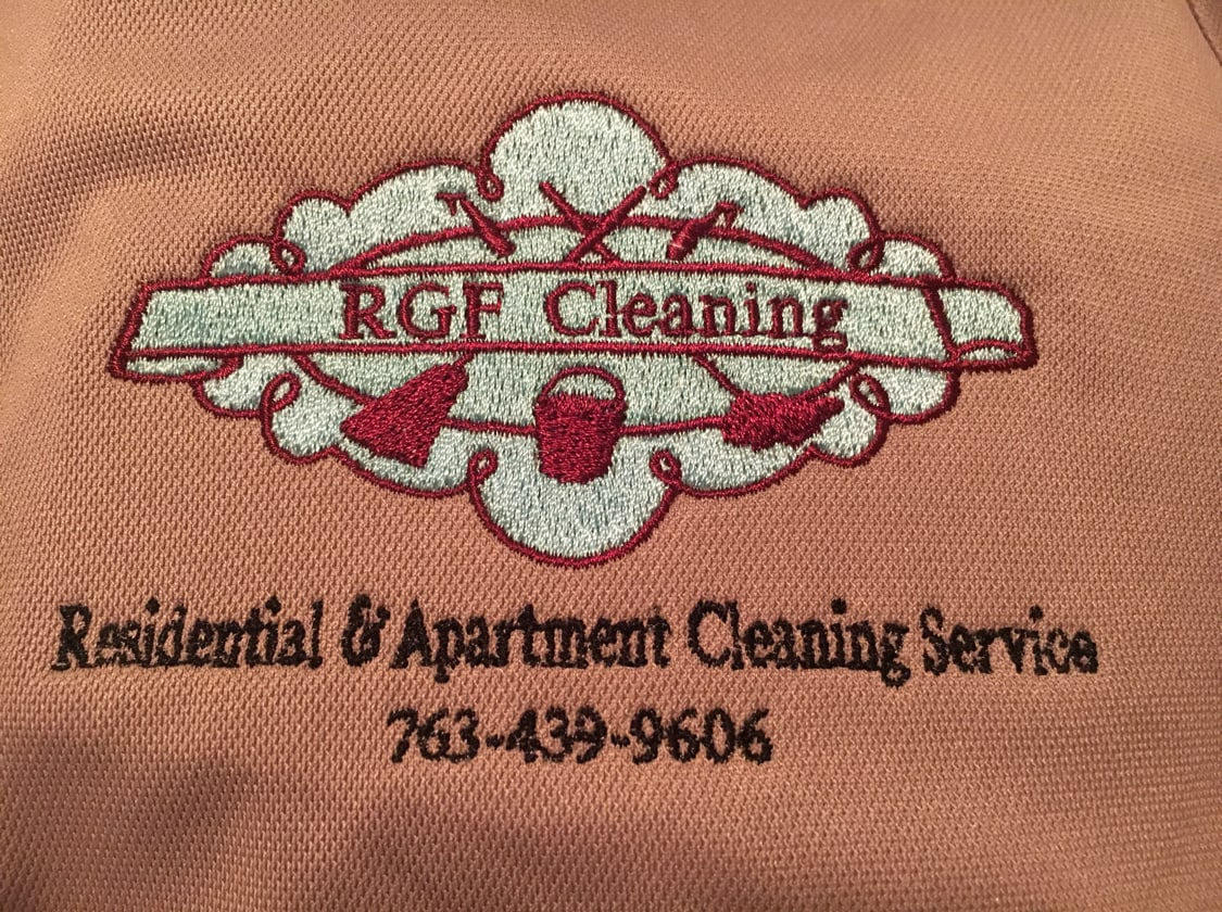 RGF Cleaning logo