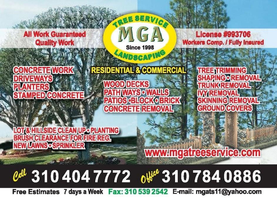 MGA Tree Service & Landscaping