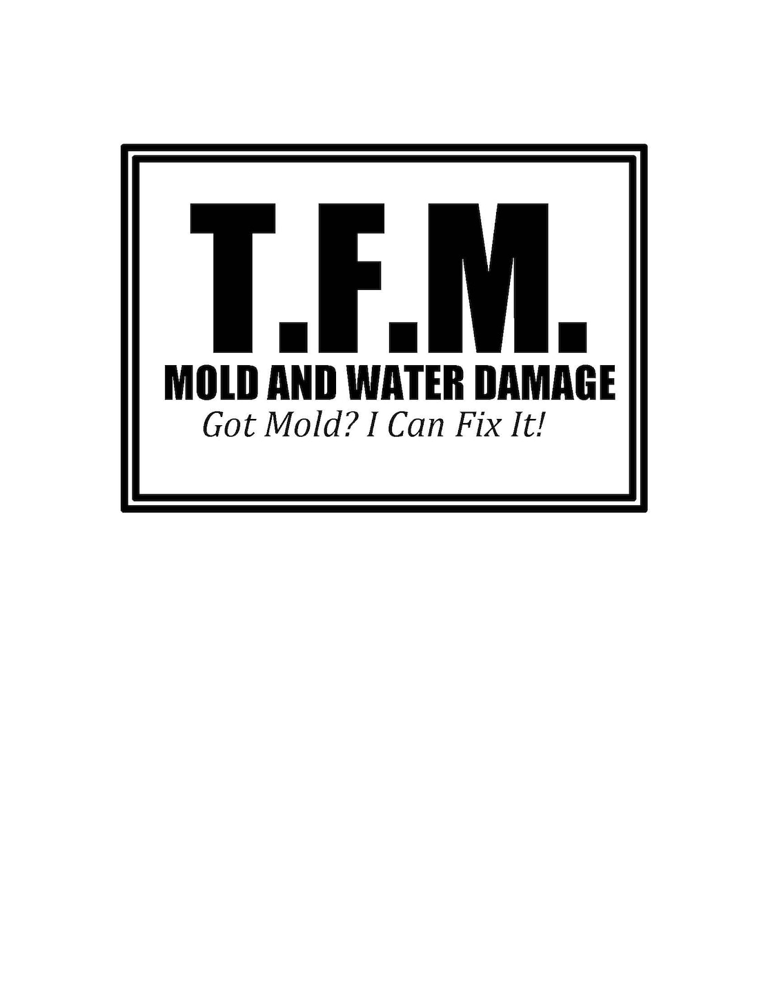 TFM Mold and Water Damage Restoration