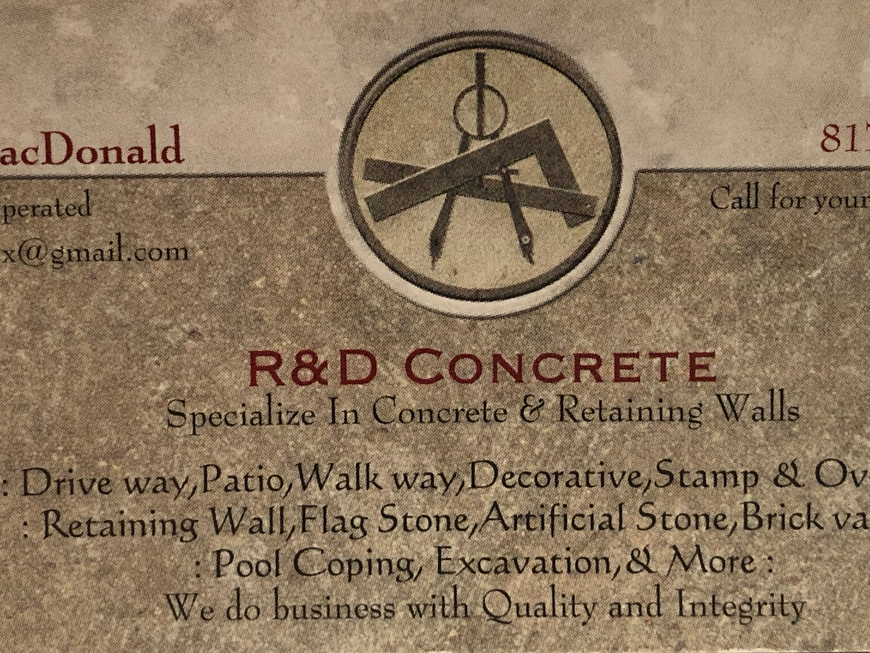 R & D CONCRETE & MASONRY