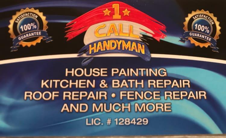 1 Call Handyman