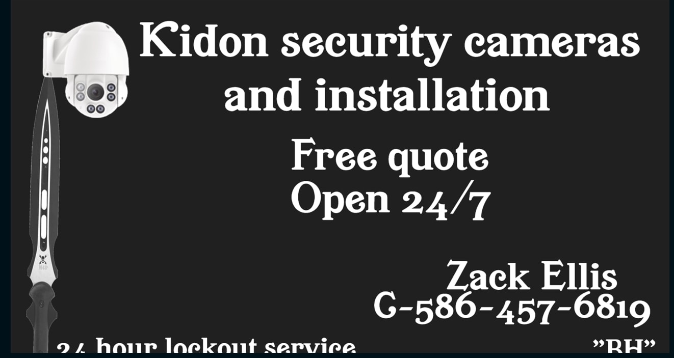 Kidon security camera systems