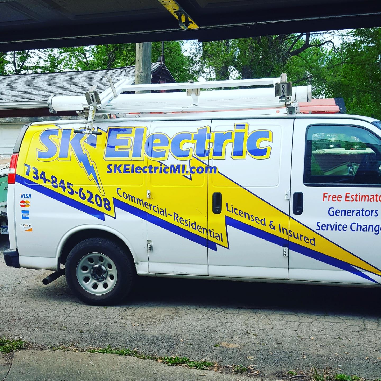 SK Electric logo