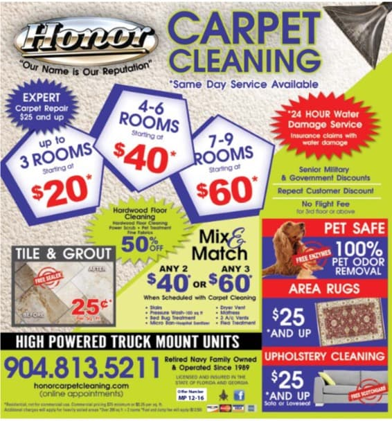 Honor Carpet Cleaning, Inc.