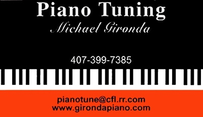 Michael Gironda Piano Tuning