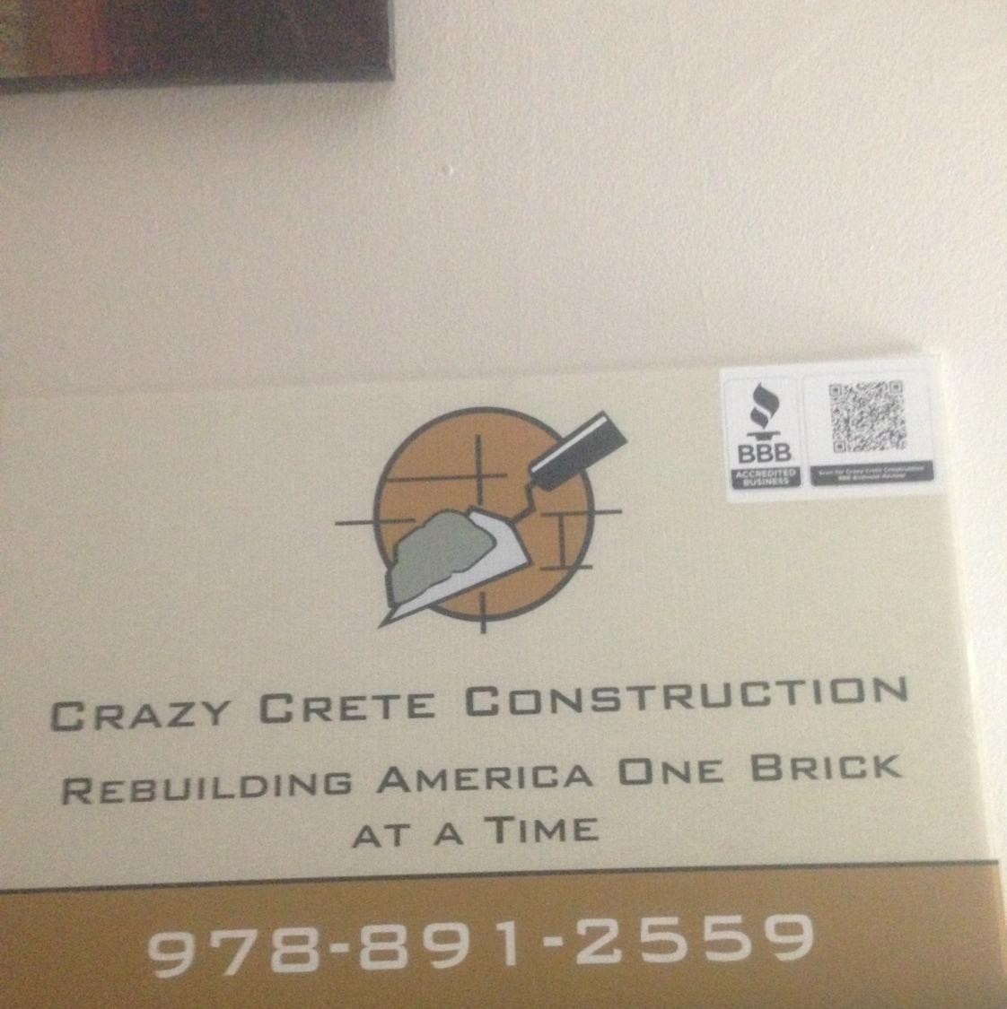 Crazy Crete Construction
