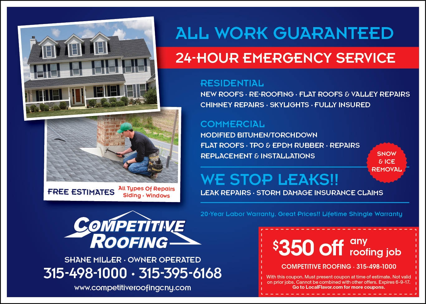COMPETITIVE ROOFING