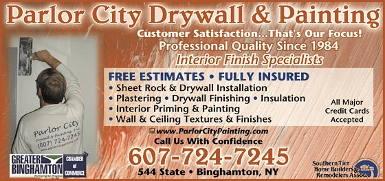 PARLOR CITY DRYWALL & PAINTING, Inc.