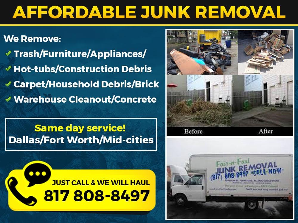 #1 Junk Removers - Fort Worth & Dallas
