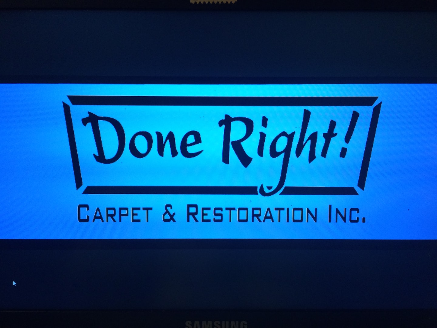Done Right Carpet & Restoration