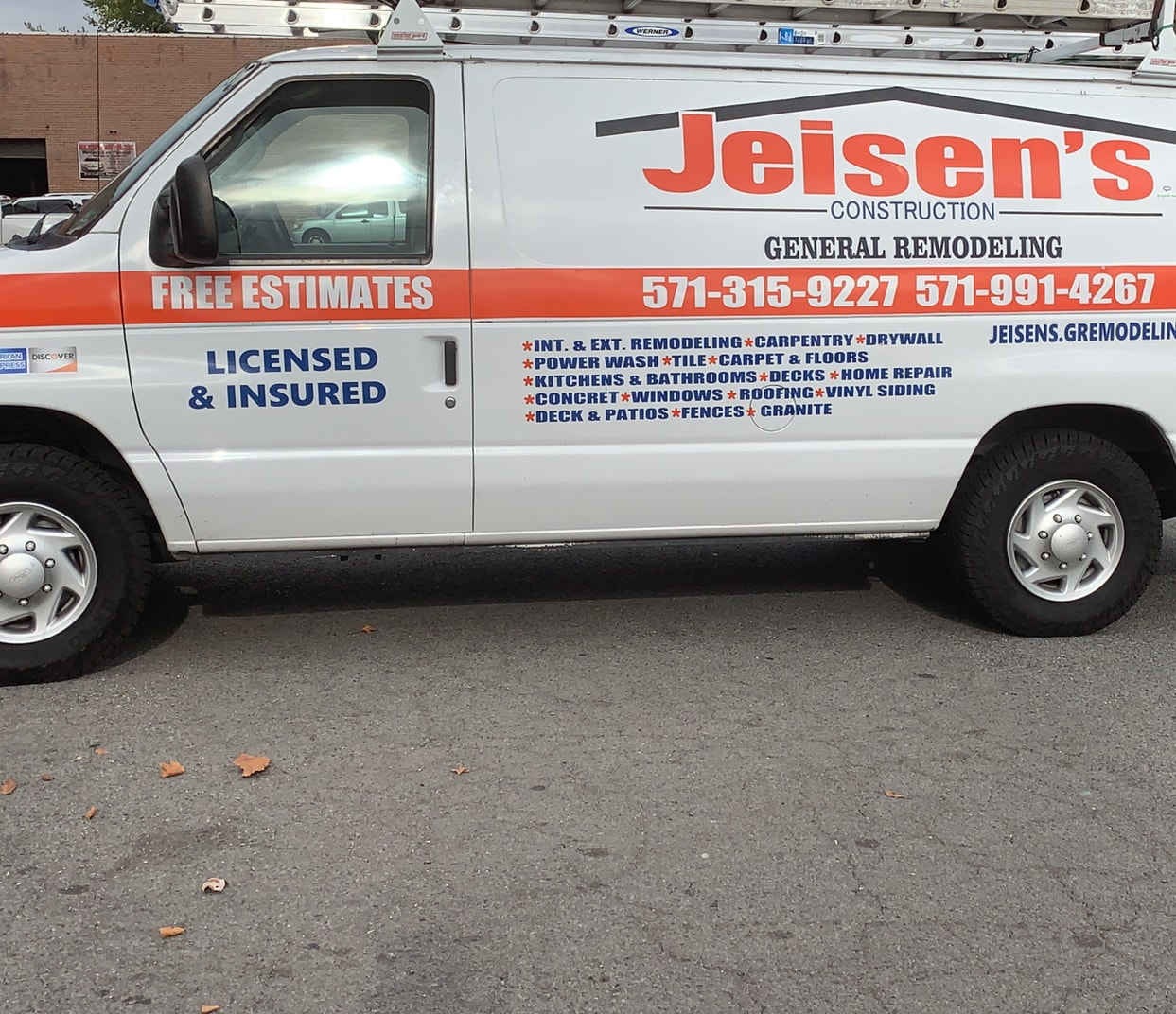 Jeisen's Construction General Remodeling LLC