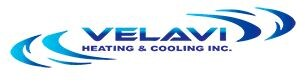 Velavi Heating and Cooling logo