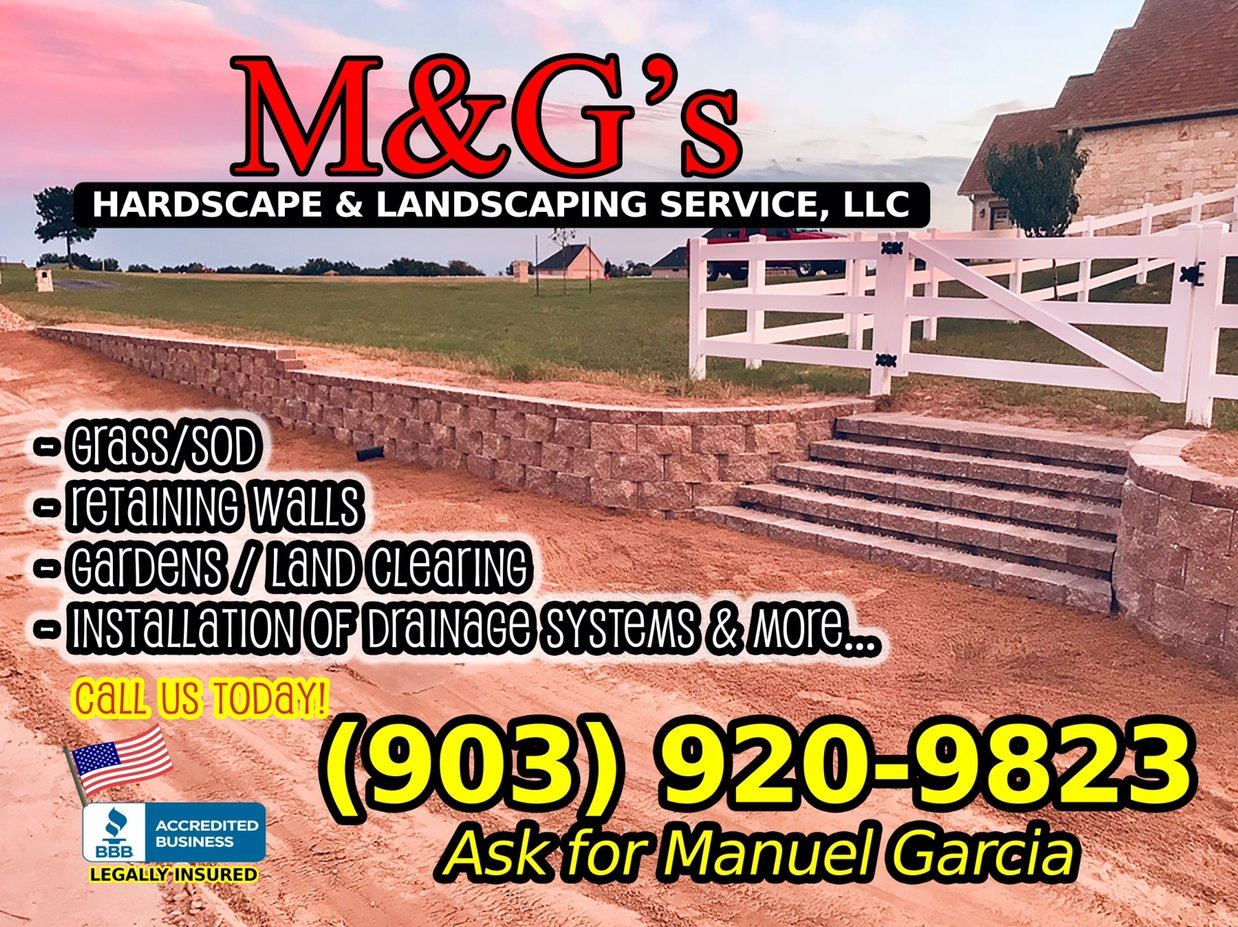 M&G's Hardscape and landscaping Service, LLC