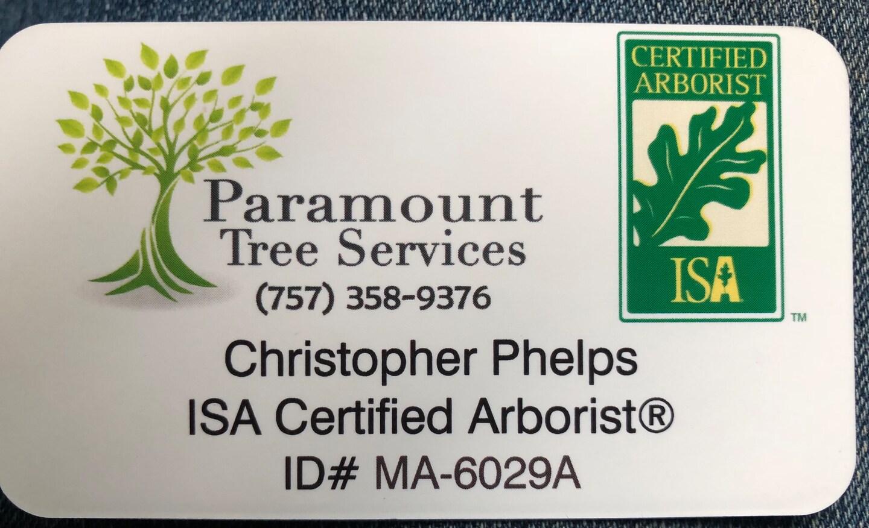 Paramount Tree Services, LLC