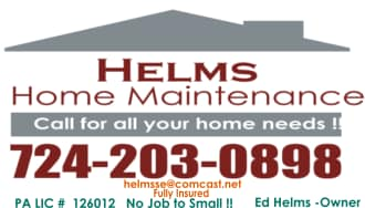 Helms Home Maintenance