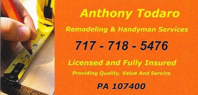 Anthony J Todaro Carpentry