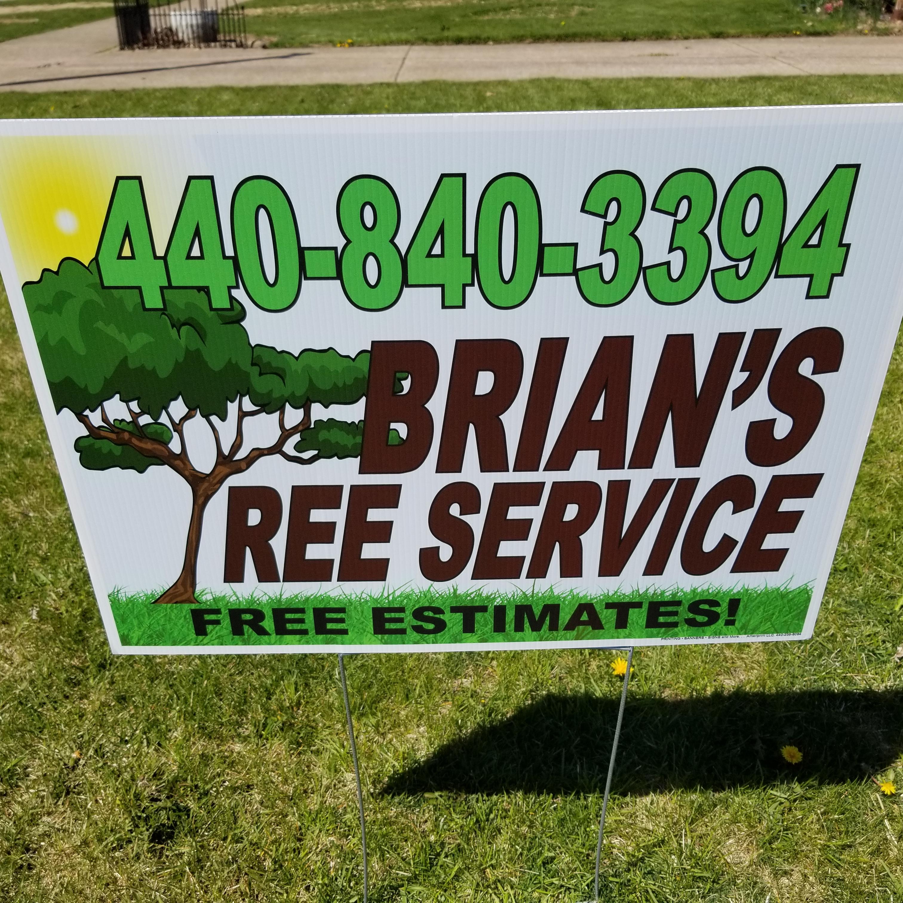 Brian's Tree Service