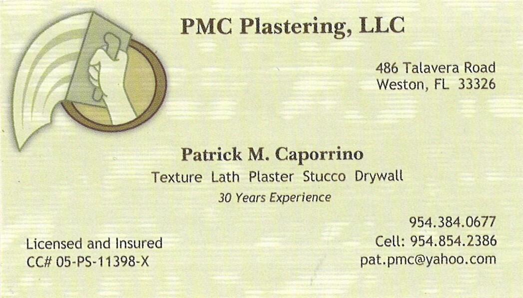 PMC Plastering LLC