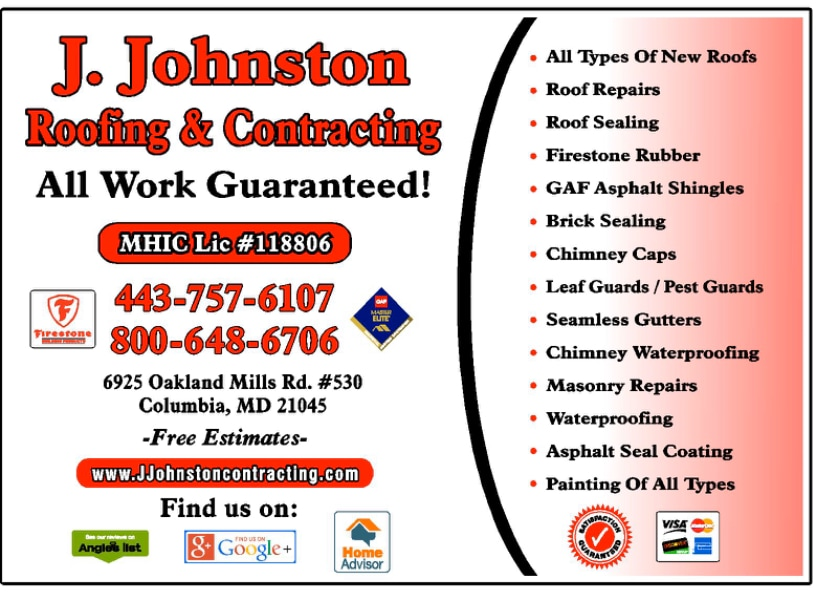 J.Johnston Roofing & Contracting