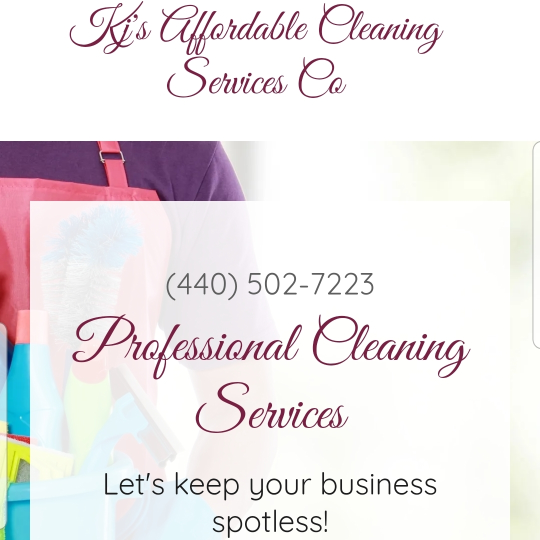 KJ's Affordable Cleaning Co