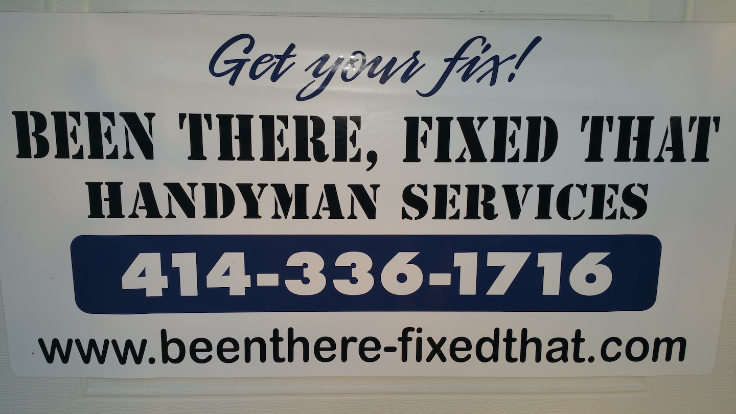 Been there fixed that handyman service llc
