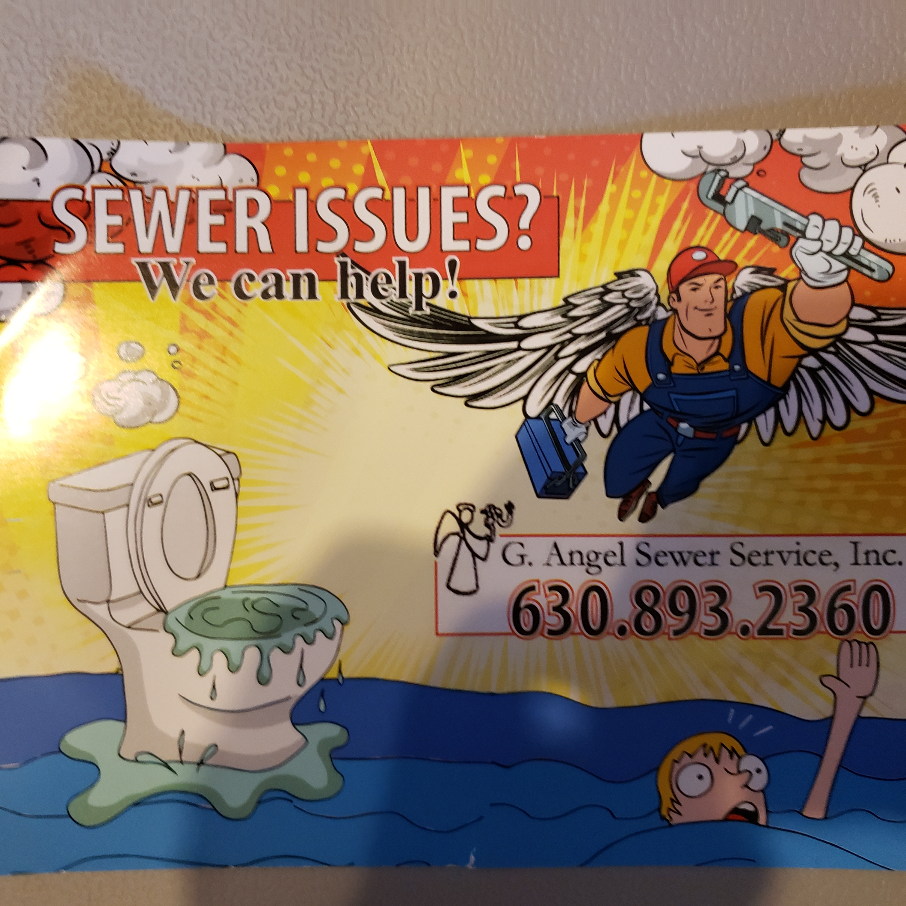 G. Angel Sewer Service