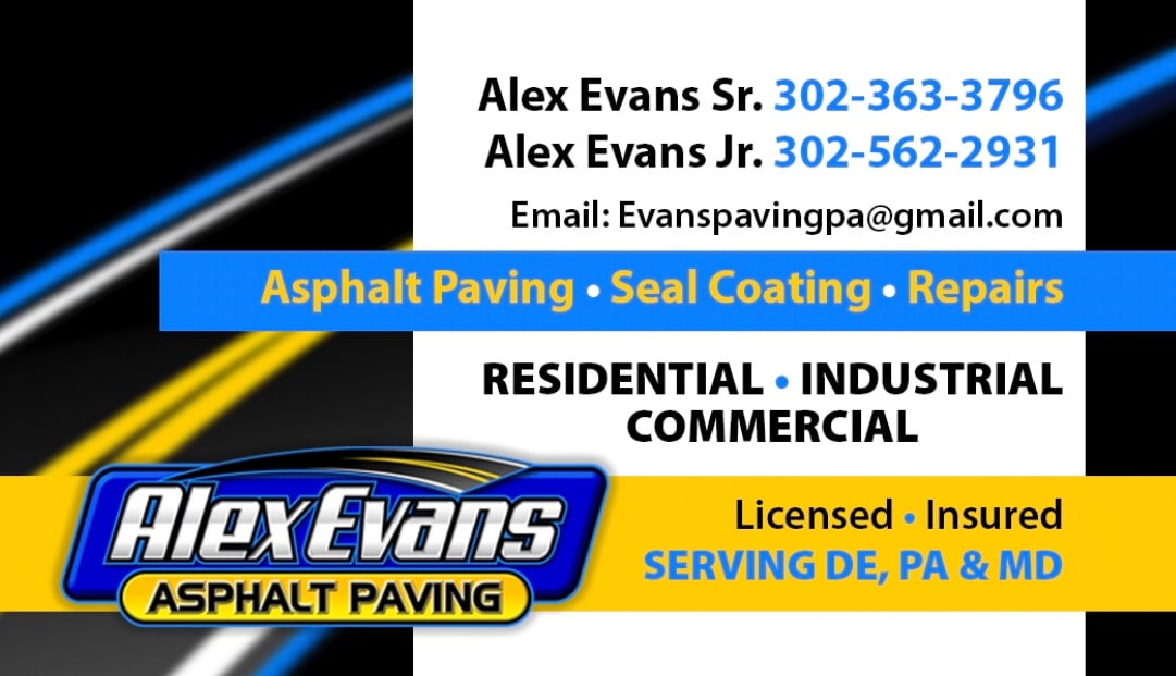 Alex Evans Asphalt Paving LLC