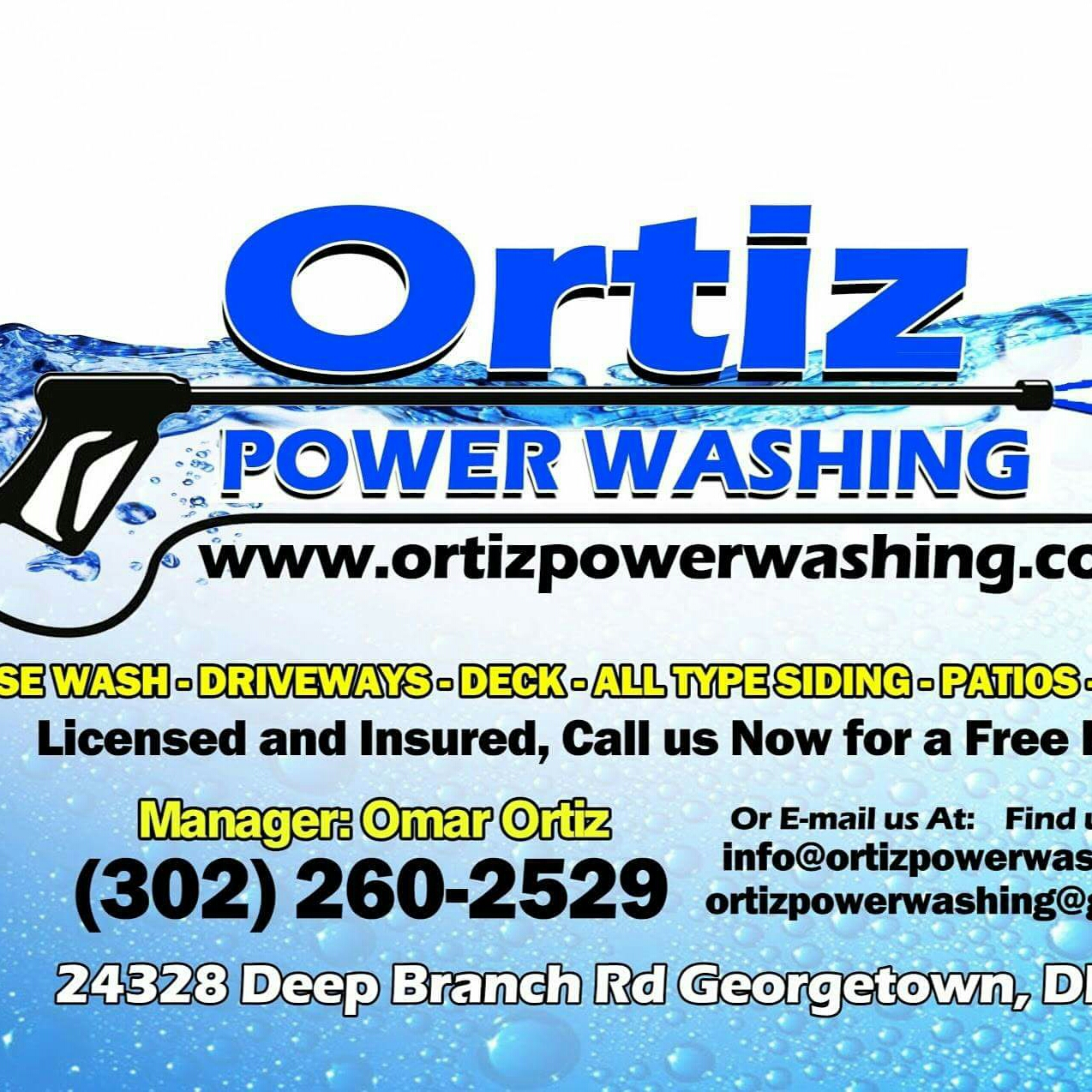 Ortiz Power Washing LLC