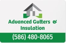 Advanced Gutters and Gutter Protection logo