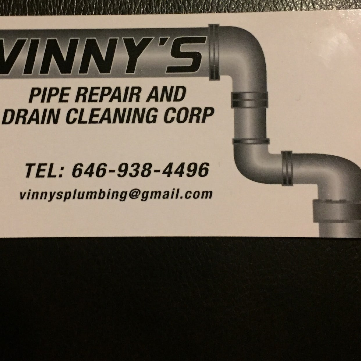 Vinny's Pipe Repair Drain Cleaning Corp