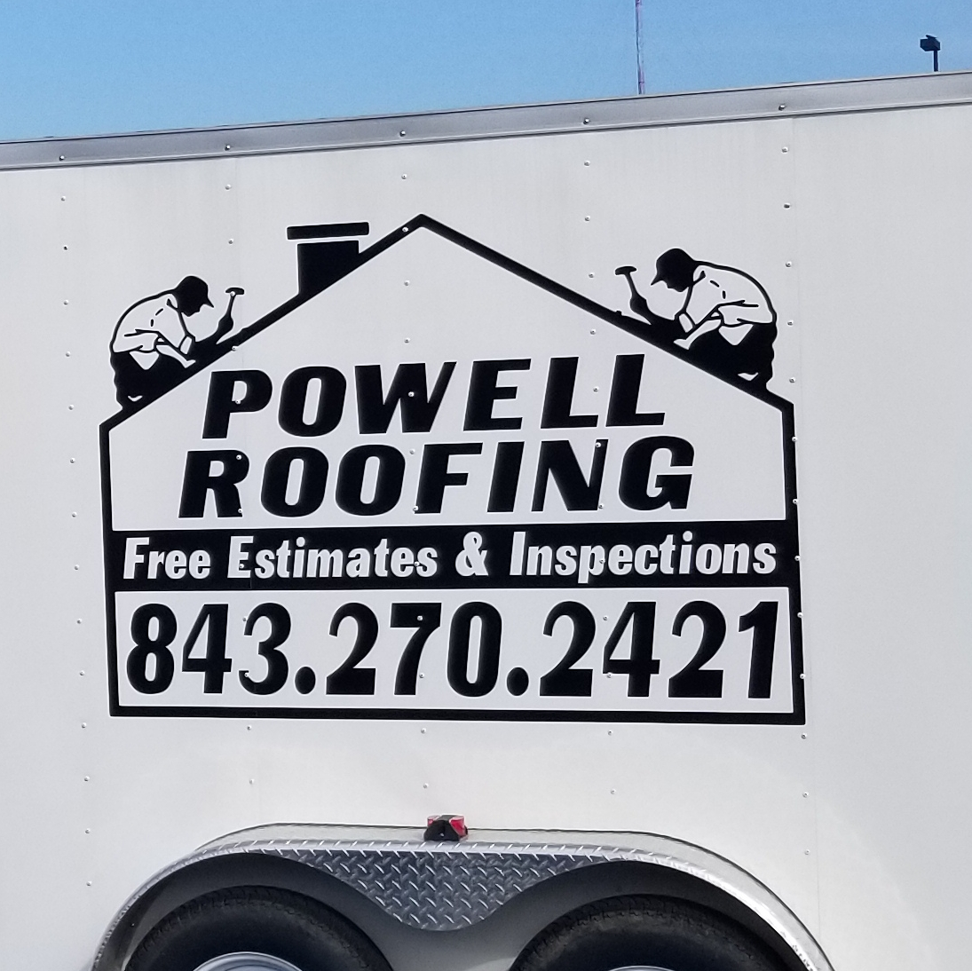Powell Roofing LLC logo