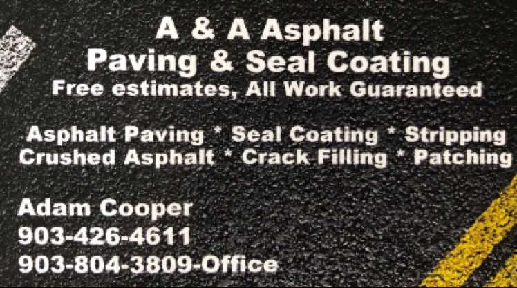 A & A Asphalt Paving & Seal Coating