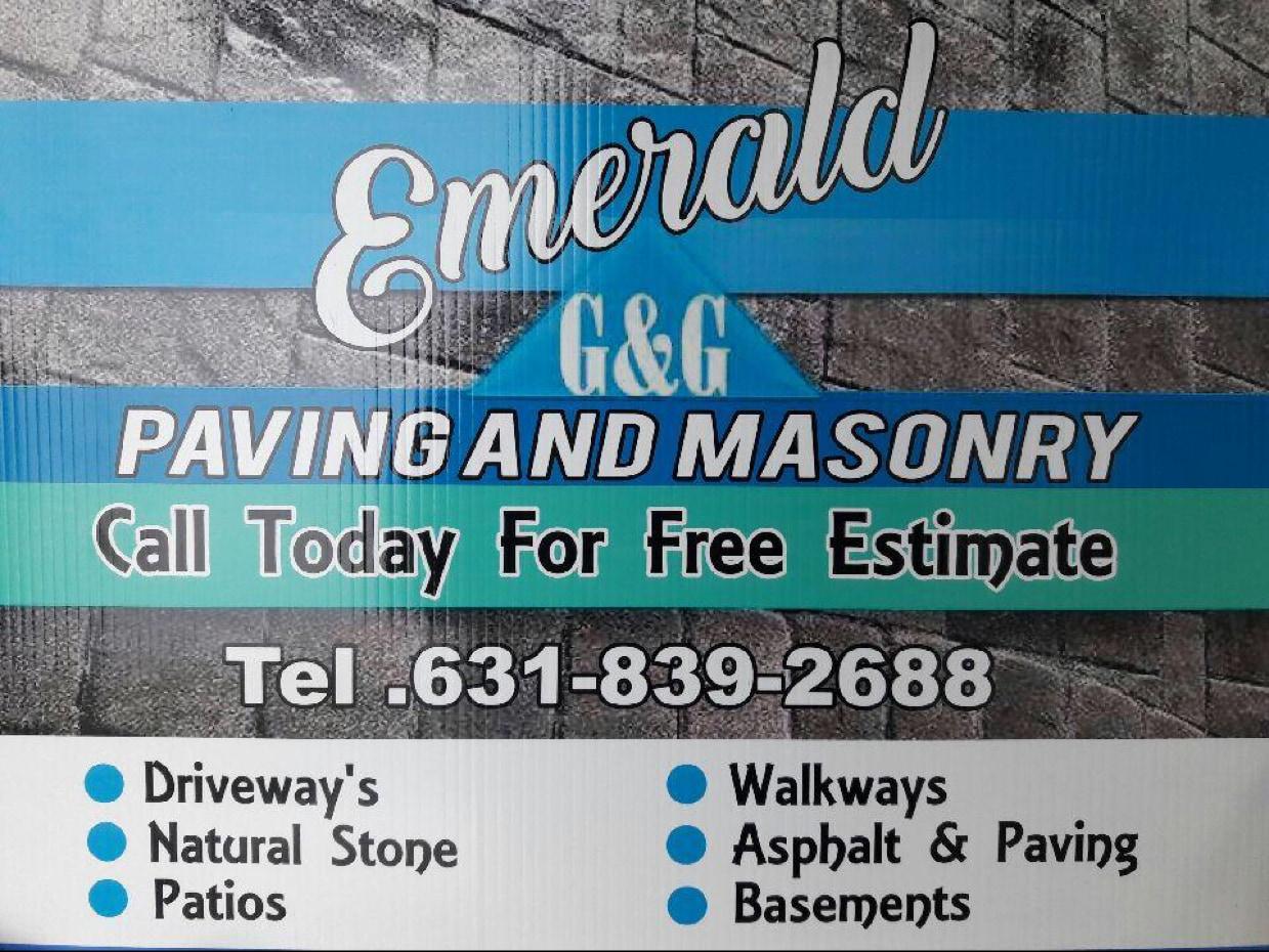 Emerald G&G Paving and Masonry