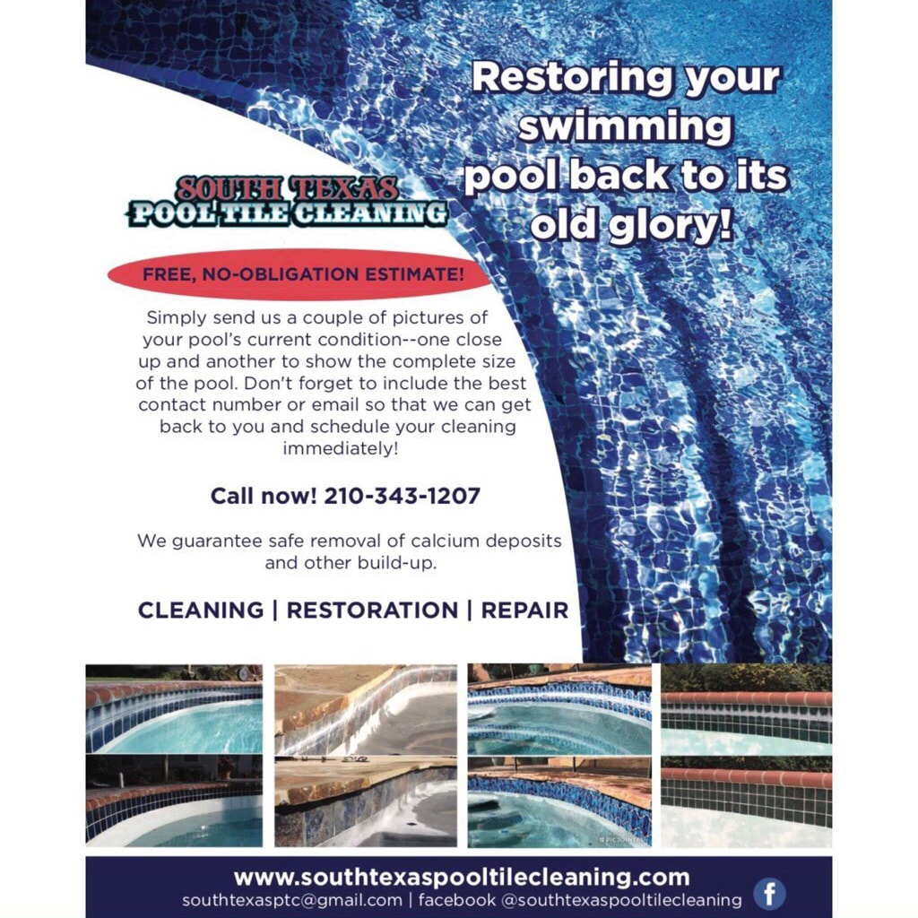 South Texas Pool Tile Cleaning  logo