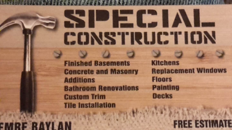 Special Construction LLC