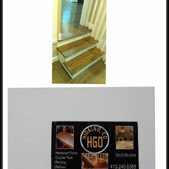 HGO hardwood floors counters and paint