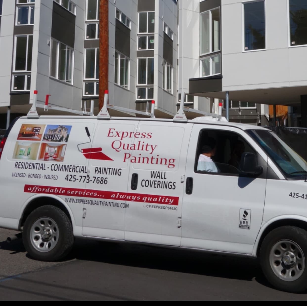 Express Quality Painting logo