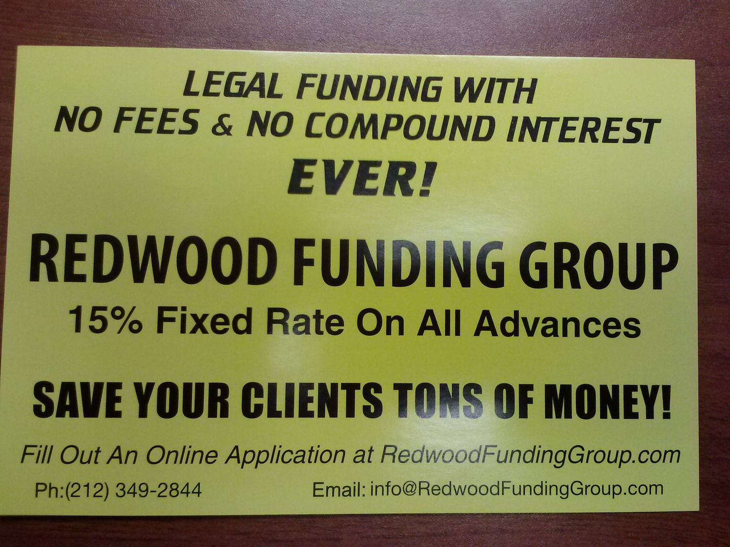 Redwood Legal Funding Group