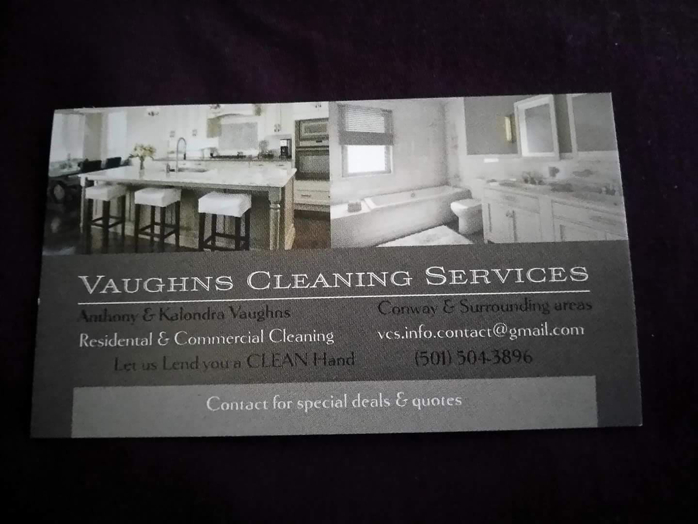 Vaughns cleaning services