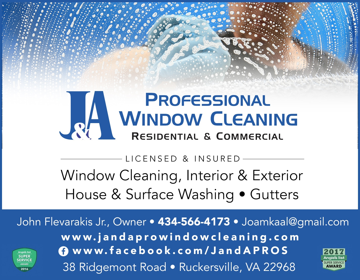 J&A Professional Window Cleaning