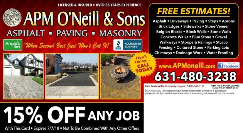APM O'Neill & Sons