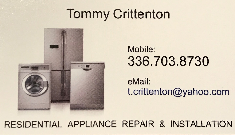 Tommy Crittenton Appliance Repair LLC