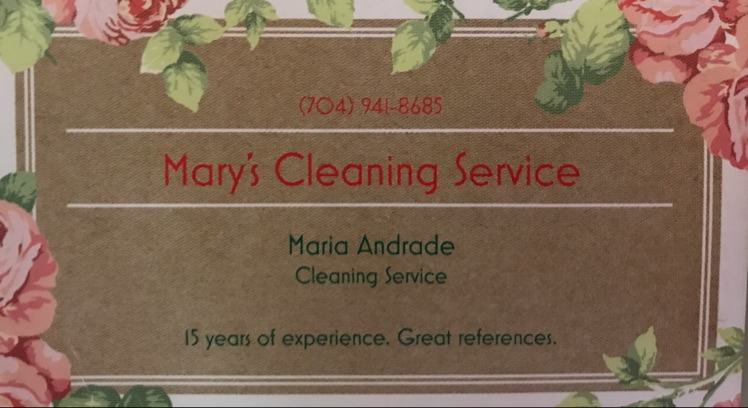 Mary Cleaning Service