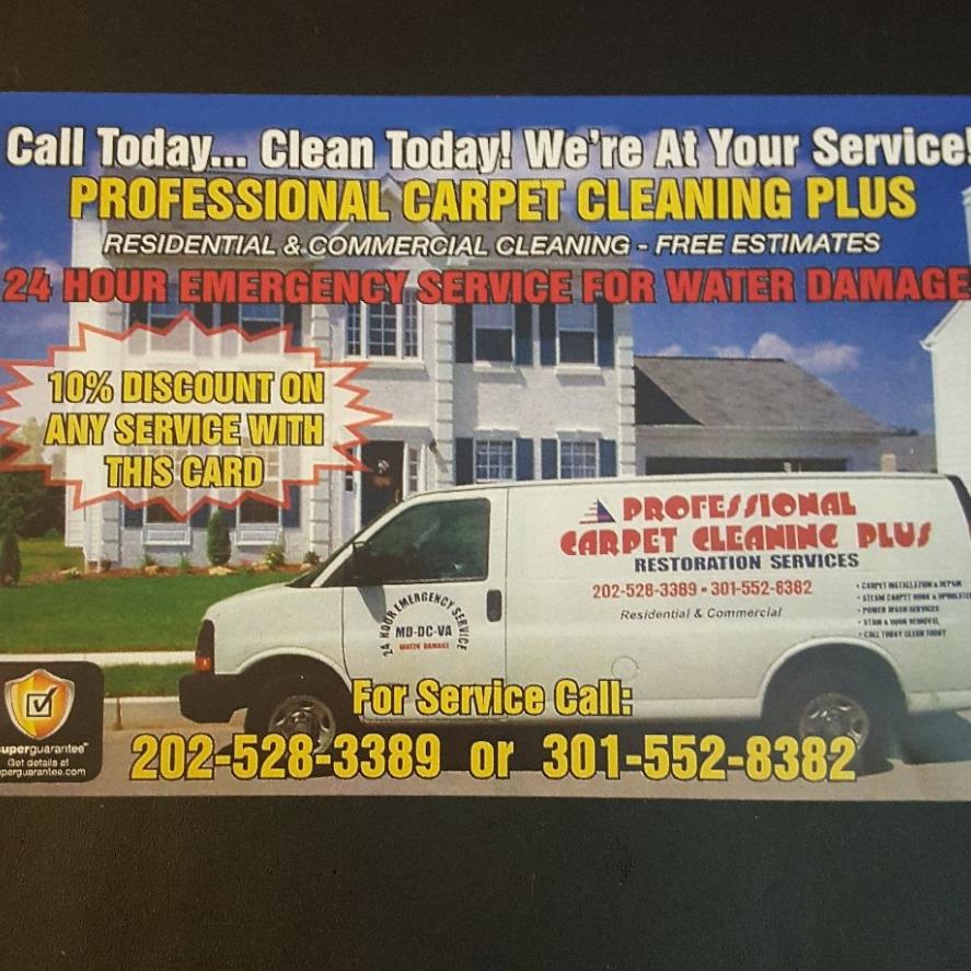 PROFESSIONAL CARPET CLEANING PLUS