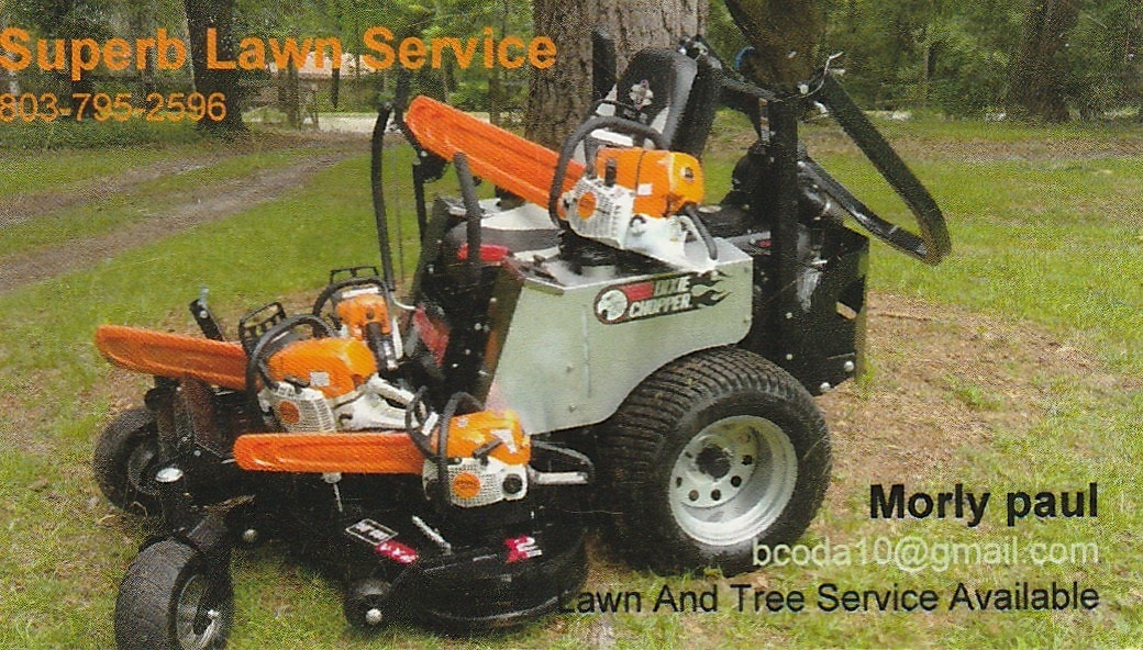 Superb Lawn Service & Tree Service
