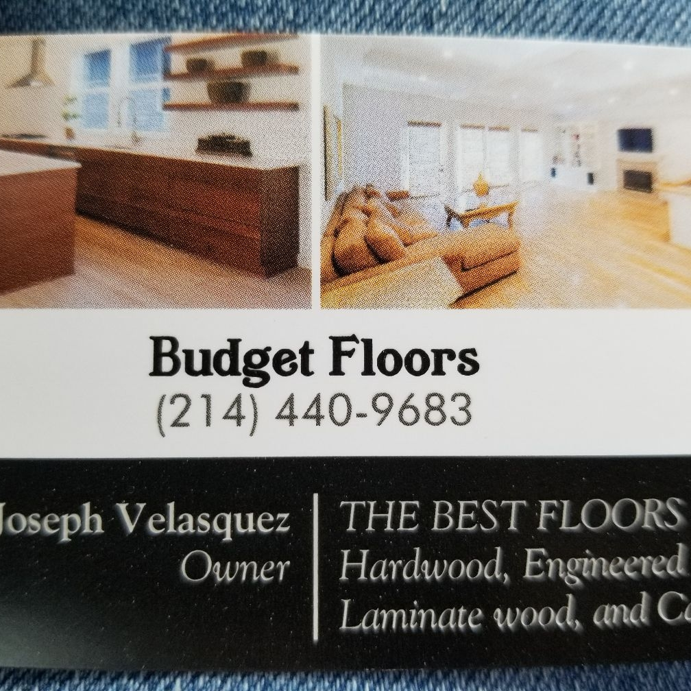 Budget Floors and Bathrooms