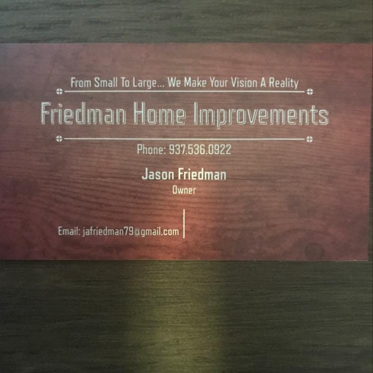 Friedman Home Improvement & Masonry