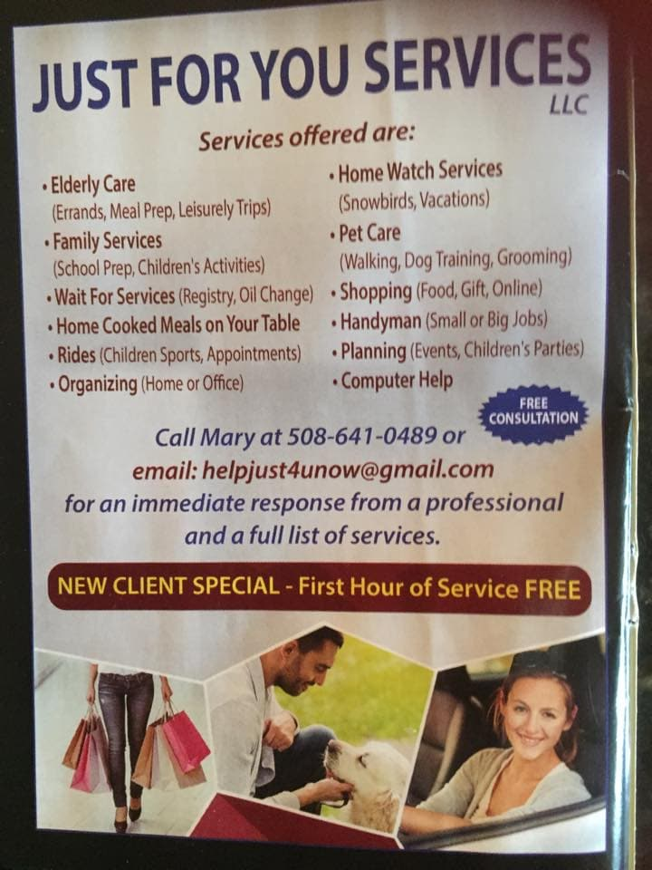 Just For You Services